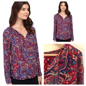 "Splendid ""Kloe"" Paisley Top"